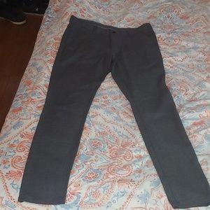 Zara Man tweed gray/charcoal dress pants